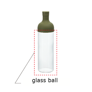HARIO FIB-75 spare glass ball