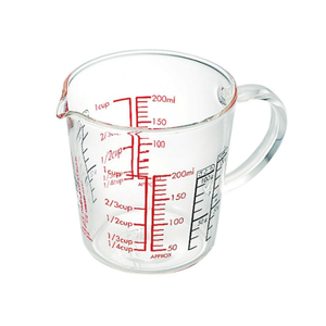 HARIO Measuring Cup Wide 200mL