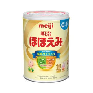 Meiji Hohoemi Raku Raku Milk Powder For Babies 0-1 Year 800g