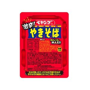 Peyoung. Spicy Yakisoba Noodle 118g 18 pieces