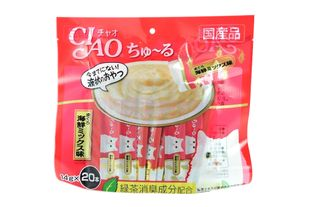 INABA CIAO Churu Cat Food (20 sachets)
