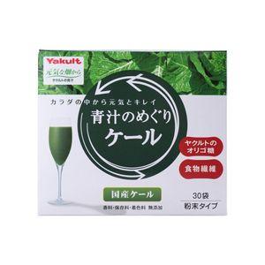 YAKULT Health Foods Aojiru no Meguri Kale (Green Juice) 30 sachets