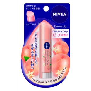 NIVEA Flavor Lip Delicious Drop Peach