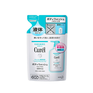 KAO Curel body wash refill 360ml