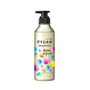 KAO merit PYUAN active and smile shampoo 425ml