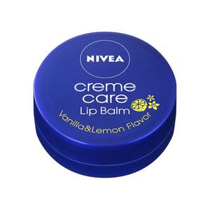 KAO Nivea Creme Care Lip Balm Vanilla and Lemon