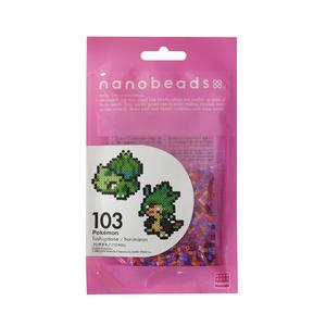 KAWADA Nanobeads Pokémon Bulbasaur/Chespin