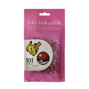 Kawada Nanobeads Pokémon Pikachu/Poké Ball