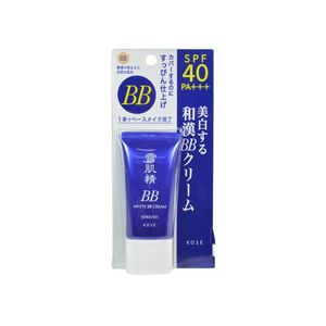 KOSE Sekkisei White BB Cream Moist 6-in-1 Natural Finish SPF40 PA+++ 30g 2 colors