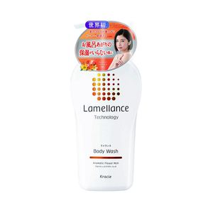 KRACIE Lamellance Technology Body Wash Aromatic Flower Rich 480ml