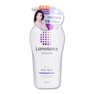 KRACIE Lamellance Technology Body Wash Aquatic White Floral 480 mL
