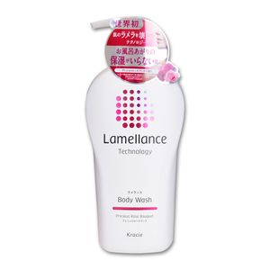 KRACIE Lamellance Technology Body Wash Precious Rose Bouquet 480 mL