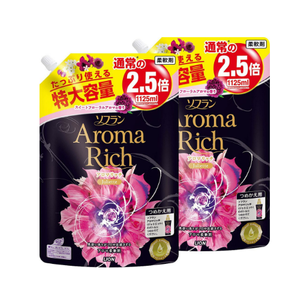 LION Soflan Aroma Rich Softener 1125ml x 2pcs Juliette