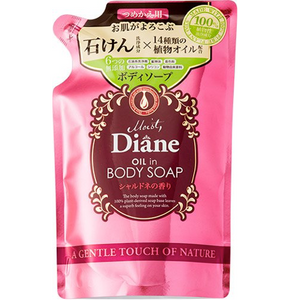 Moist Diane Oil in body soap refill 400ml 2 flavor