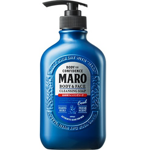 MARO Body & Face Cleansing Soap Cool 400ml