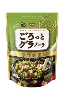 NISSIN fruit granora green tea 500gx 2packs set