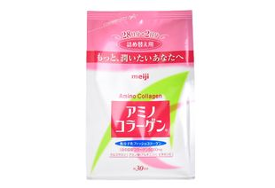 Meiji Amino Collagen Powder Regular Refill 214g