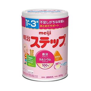 MEIJI Step Baby Formula (800g) [Powdered milk supplement for 1-3 year olds]