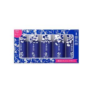 KOSE Sekkisei Lotion Set M5 75ml x 5 bottles Mickey Limited Design
