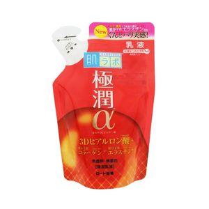 ROHTO Hada Labo Gokujun Alpha Skin Milk Refill 140mL