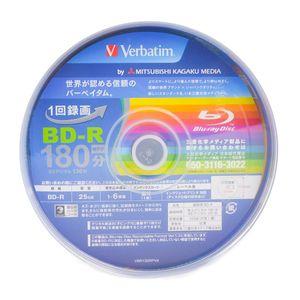 MITSUBISHI KAGAKU MEDIA Verbatim BD-R 180minutes 25GB 50 discs