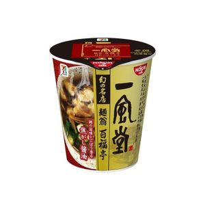 NiSSIN IPPUDO The Famous Ramen Shop Men O Momofukutei Soy Sauce Noodle 96g x 12 cups