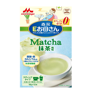 Morinaga good mom Matcha 18gx12sachets