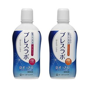 Daiichi Sankyo Medicated Ion Mouth Wash Breath Labo 450ml 2 types