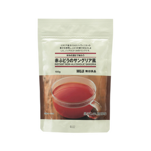 MUJI instant non-alcoholic sangria 100g