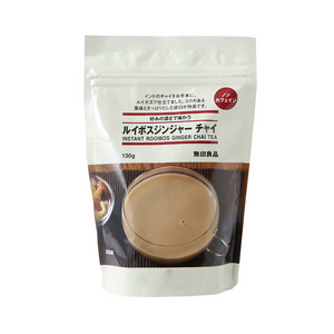 MUJI instant rooibos ginger chai tea 130g