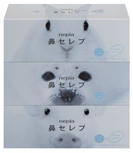 Nepia Nose Celebrity 400sheets*3packs