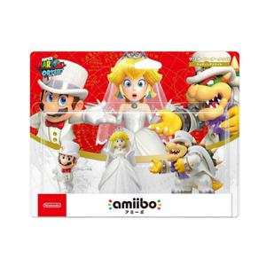 Nintendo Amiibo Super mario wedding set