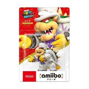 Nintendo Amiibo Super mario wedding style -Bowser-