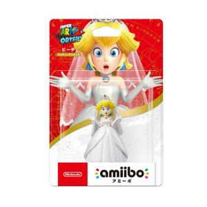 Nintendo Amiibo Super mario wedding style -Peach-