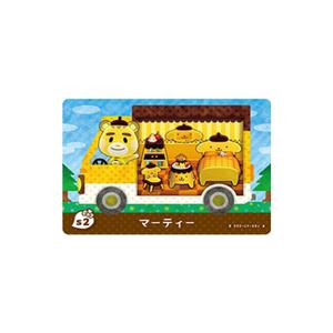 Nintendo Animal Crossing Amiibo cards -pom pom pudding-