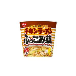 Nissin Chicken Ramen Bukkomi Rice 77g 6pieces