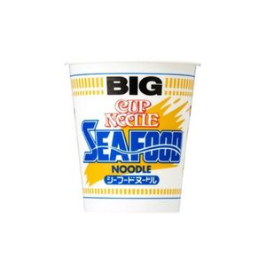 Nissin Cup Noodle Seafood Big 104g 12pieces