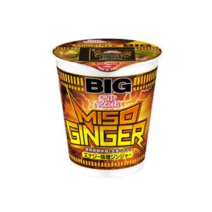 Nissin Cup Noodle Energy Miso Ginger Big 103g 12pieces