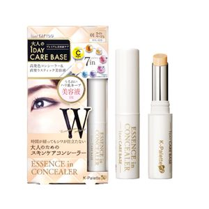 K-PALETTE 1 Day Care Base Essence in Concealer for Anti-Aging and Finelines 3 colors