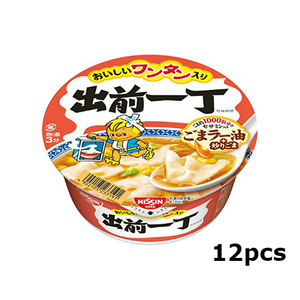 NISSIN Demae ramen sesami oil with wantan 12pieces