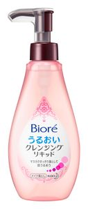 KAO Biore Moisturizing Cleansing Liquid Makeup Remover 230ml