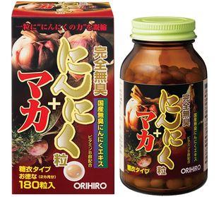 ORIHIRO Completely Odorless Garlic tablet 180 tablets