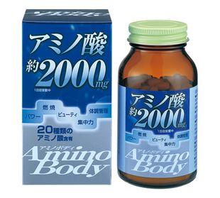 ORIHIRO Amino Body Soybean Peptide 250 tablets