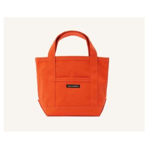 marimekko Raide Mini Peruskassi Tote Bag Orange only available in Japan