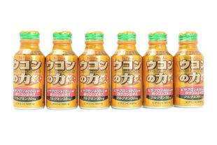 HOUSE UKONNOCHIKARA The power of turmeric 100ml x 6 bottles