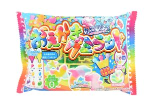 Kracie Popin' Cookin' Oekaki Gummy Land 10 Packs