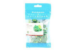 KAWADA Pokemon x Nanoblock Bulbasaur (Fushigidane) NBPM-003