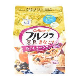 Calbee FRUGURA Fruit Granola Black Bean Flour 700g