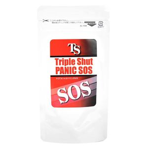 GREEN MEDICAL Triple Shut Panic SOS Diet Supplement 60 tablets