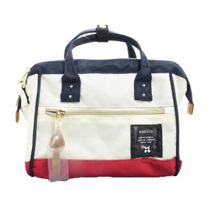 Anello 2-way Mini Boston Bag Tricolor AT-H0851